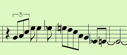 Sax on the Web > The Right Notes At The Right Time
